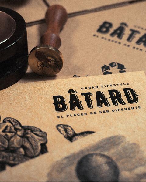 Batard identidad visual
