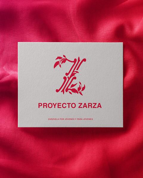 Proyecto Zarza identidad visual